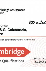 Premio British School di Genova
